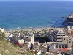 View over main AlicanteBeach