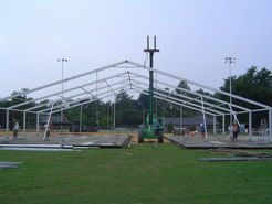 Getting the structure erect!