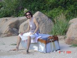 Trip away to the beach - Korean beachcheer