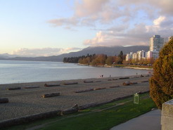 Our front-yard, English Bay in its glory