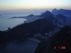 Rio, one of the seven wonders of the world.