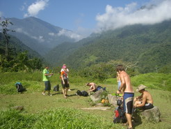 Break time on the way to the lost city - Beautiful