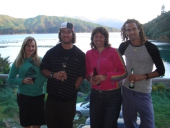 Catching up down the Marlborough Sounds