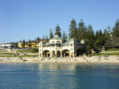The postcard shot of Cottesloe Surf life saving club
