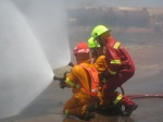 Defnsive position - Thanks god for that water, it gets bloody hot and smoky.
