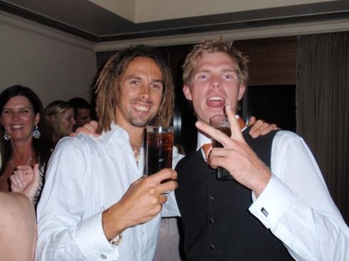 Myself and cousin Craig