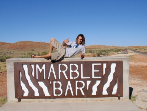 Hap with a Marble Bar