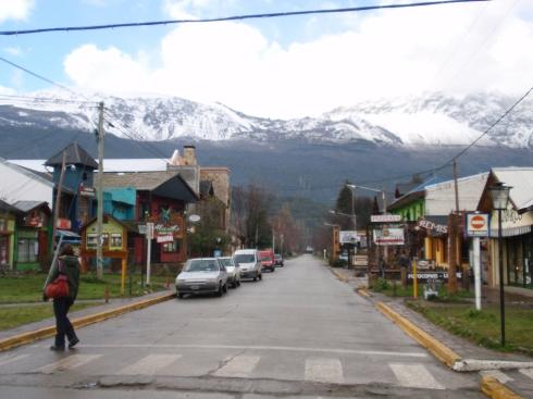streets of El Bolson